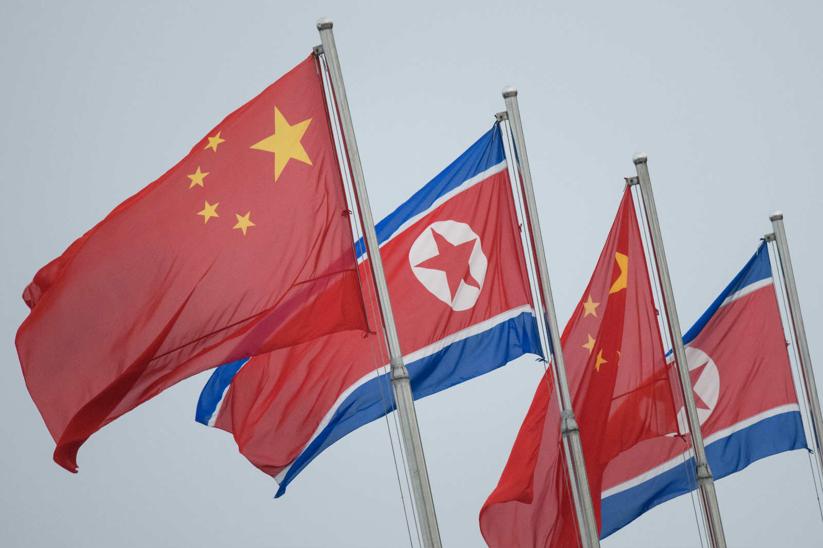 朝鮮支持訂立「港區國安法」,指外國無權干涉中國內政。(法新社資料圖片)