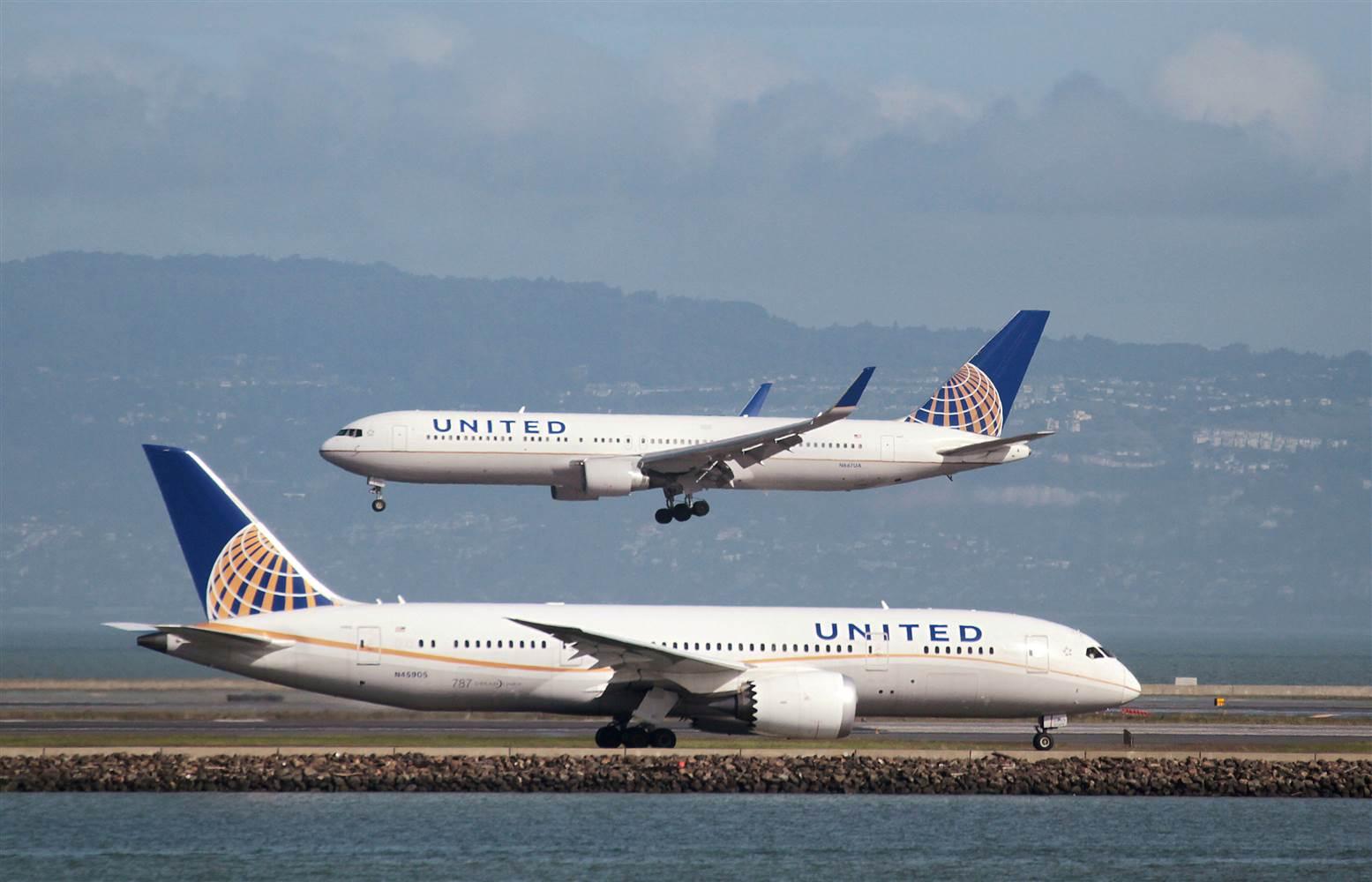 新冠肺炎重擊航空業,聯合航空傳出將再關閉3 個海外基地 (資料圖片)