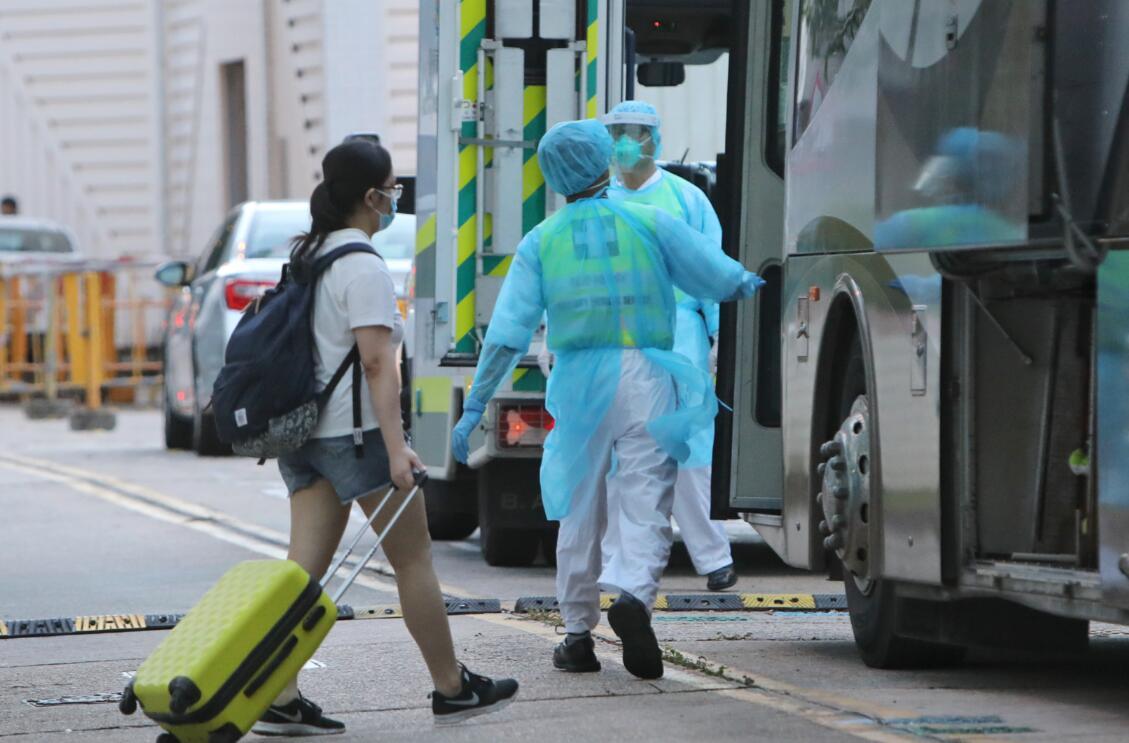 截至今日下午4時,本港新增3宗確診感染新型冠狀病毒的輸入個案,累計病例增至1105宗(中新社資料圖片)