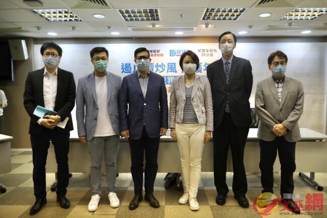 鄧炳強出席民建聯舉辦的「關注犯罪年輕化問題」活動(香港文匯報記者 李斯哲攝)