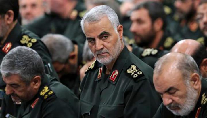 2020年1月3日,伊朗伊斯蘭革命衛隊下屬「聖城旅」指揮官卡西姆·蘇萊曼尼在伊拉克巴格達國際機場外遭美軍空襲身亡。環球網圖片