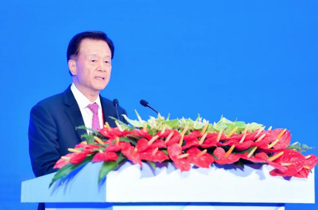 許榮茂表示「港區國安法」具有里程碑式的意義。(中新社資料圖片)