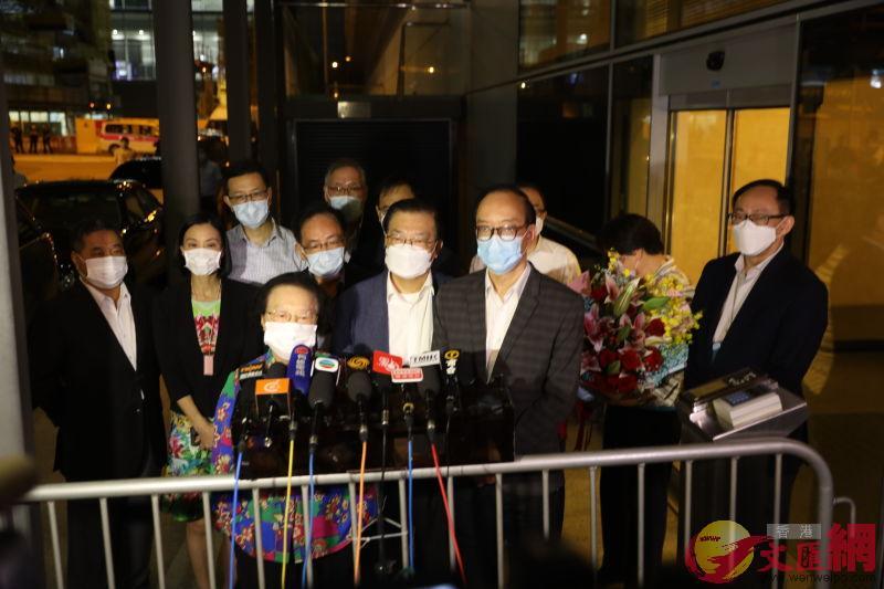 基本法委員會副主任譚惠珠表示,設立維護國家安全的機制是中央事務,香港有憲制責任遵守。大公文匯全媒體記者李斯哲 攝