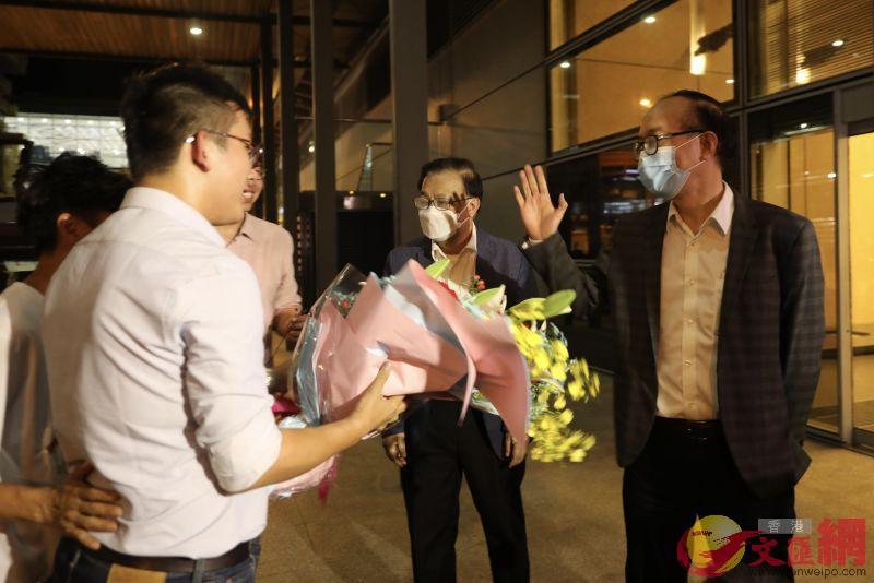 譚耀宗表示,香港國安法可還香港穩定。大公文匯全媒體記者李斯哲 攝