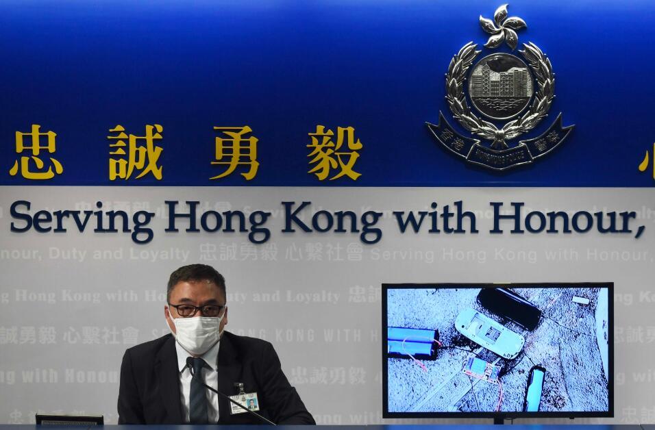 據了解,李桂華將加入警隊國安處。中新社