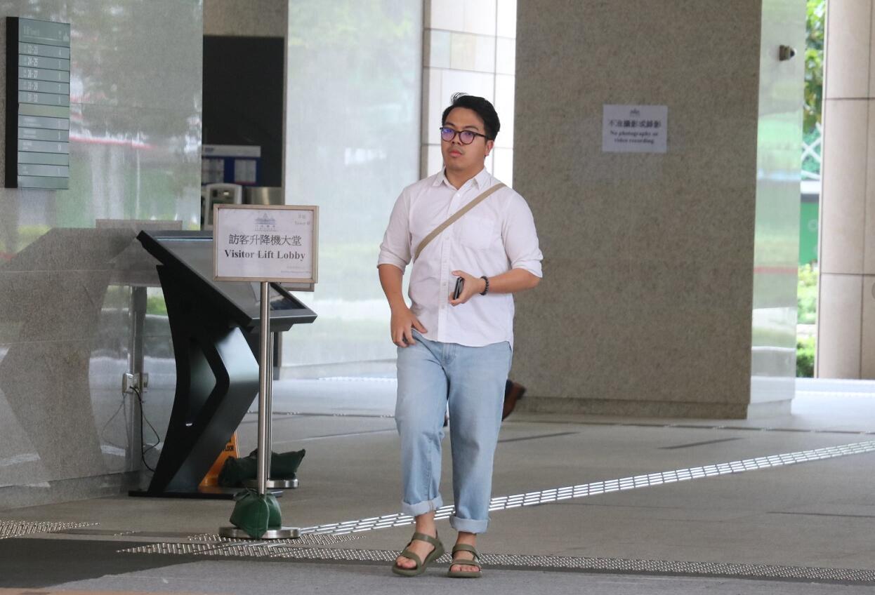 「香港眾志」林朗彥。資料圖片