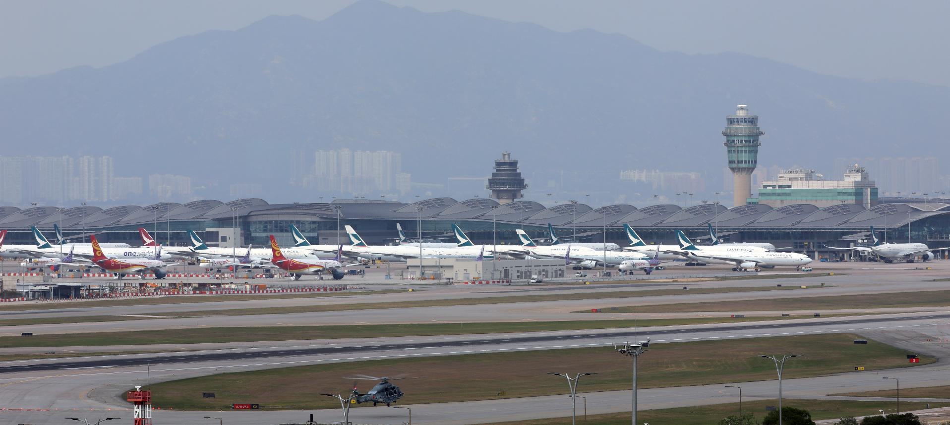 中國民航局表示,到2025年基本建成粵港澳大灣區世界級機場群。(大公文匯全媒體中心資料圖片)