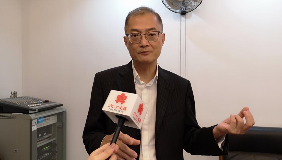 港大深圳醫院院長盧寵茂 記者 郭若溪攝
