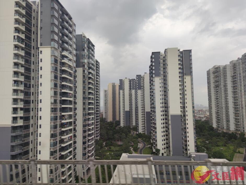 廣東出台措施,將允許港澳居民將其在大灣區內地購買的自住住宅抵押給境外銀行。記者盧靜怡 攝
