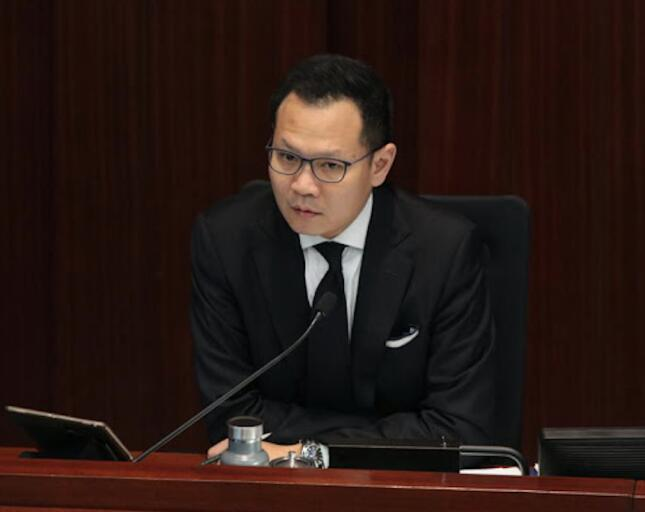 郭榮鏗曾以上屆立法會內會副主席身份多次涉嫌濫權,在泛暴派配合下癱瘓內會運作長達數月。(大公文匯全媒體資料圖片)
