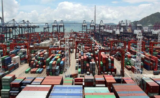 下月所有香港製造並出口到美國的商品,必須貼上中國製造的標籤。(中新社資料圖片)