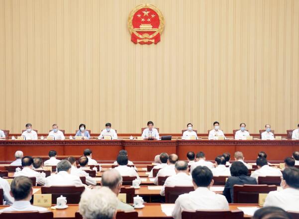 香港立法會繼續運作議案獲全國人大常委會全票通過。(新華社資料圖片)