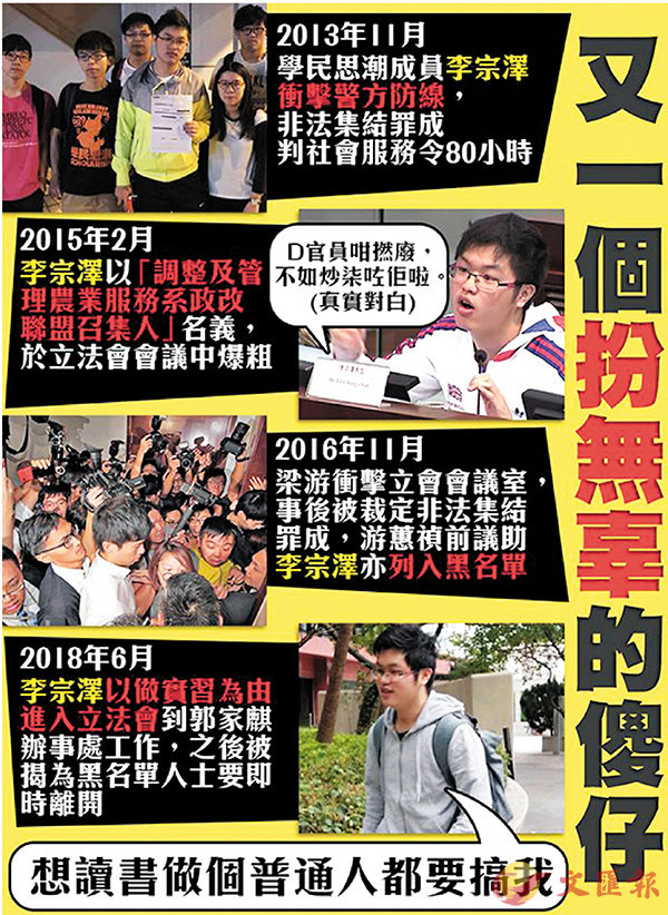 李宗澤經營「我要攬炒」前已惡行纍纍。 資料圖片