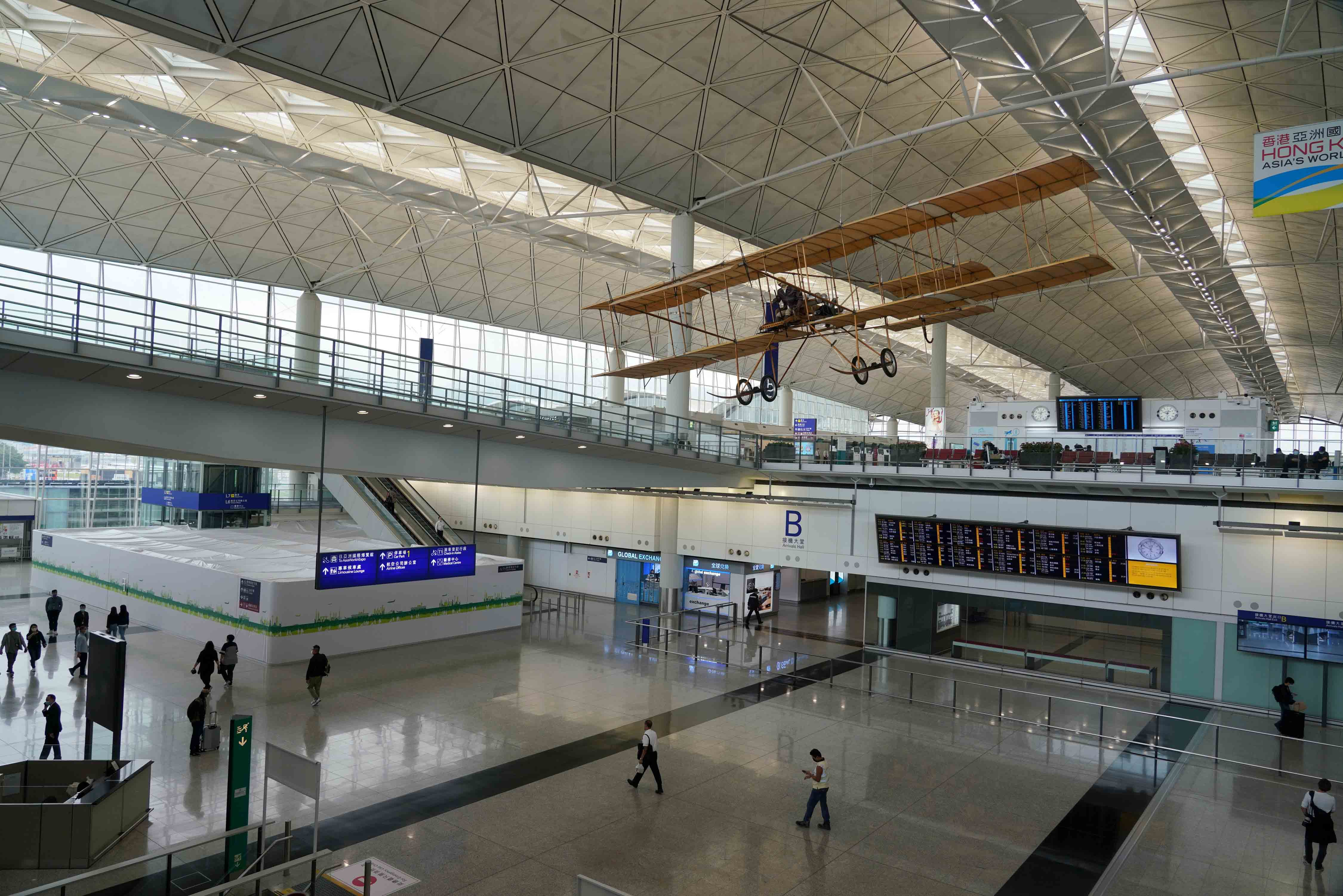 香港前往北京旅客17日起須持陰性核酸檢測結果(資料圖)