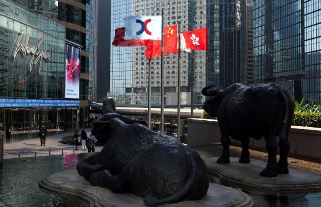 港交所宣布暫停上午交易。(大公文匯全媒體中心資料圖片)