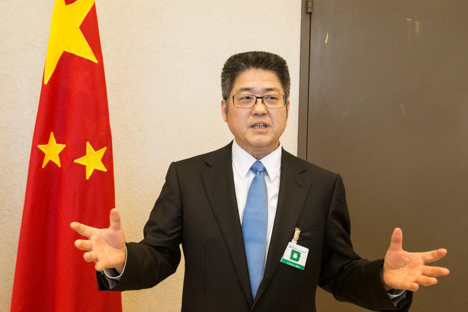 圖為外交部副部長樂玉成。(新華社資料圖片)