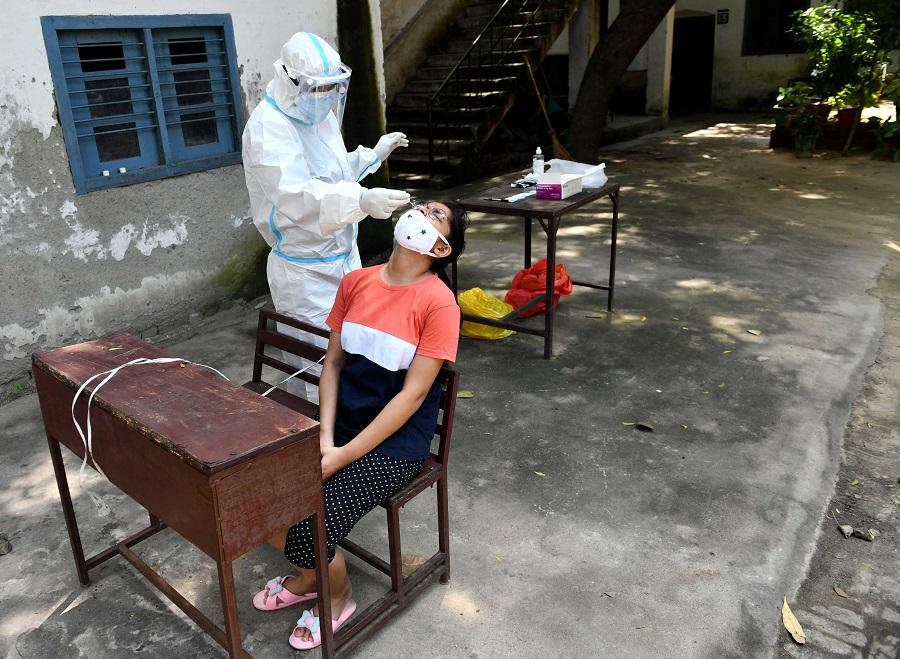 印度已經超過巴西,成為全球新冠肺炎確診病例數量第二高的國家。(新華社)