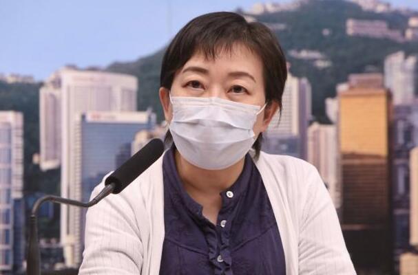 張竹君公布,香港新增6宗確診個案,其中1宗個案經普及社區檢測計劃驗出。(中新社資料圖片)